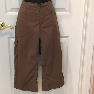 North Face brown pants size 10
